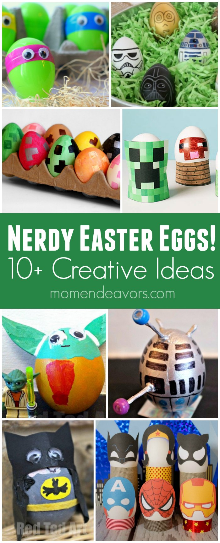 10+ Nerdy Easter Egg Ideas