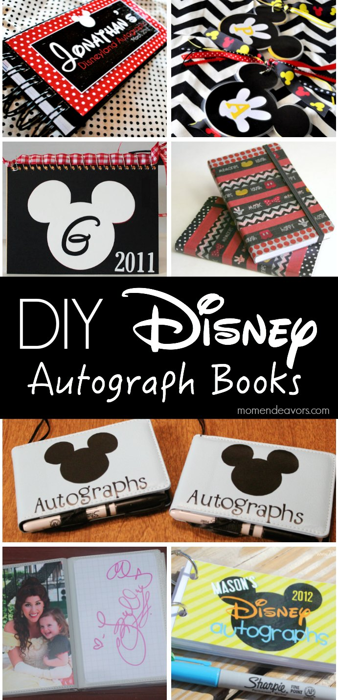 graphic relating to Printable Disney Autograph Book identified as 10+ Do-it-yourself Disney Autograph Guides