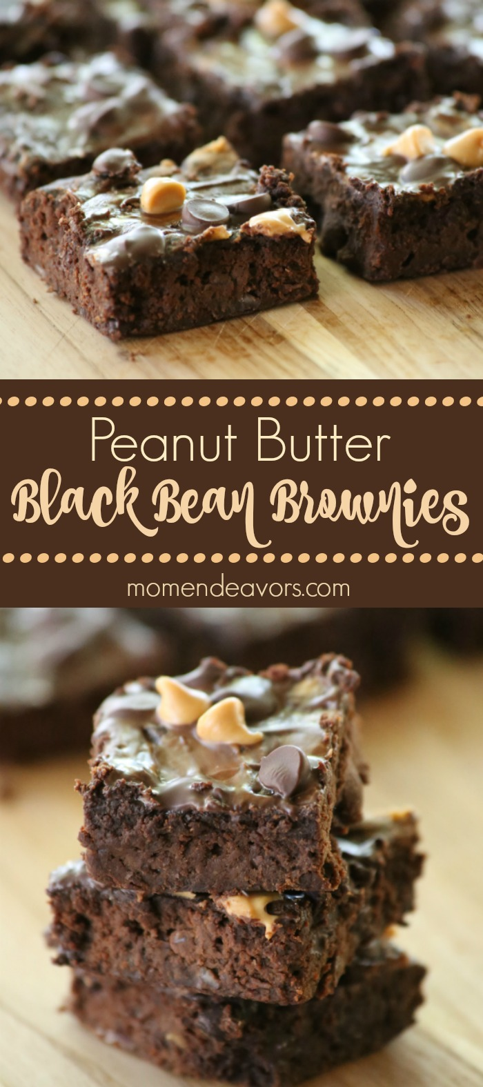 Delicious Peanut Butter Black Bean Brownies