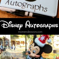 10+ DIY Disney Autograph Books