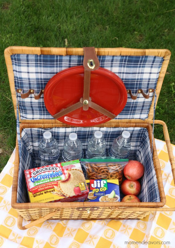 Easy picnic lunch