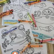 Fun Ocean Learning & Octonauts Activities