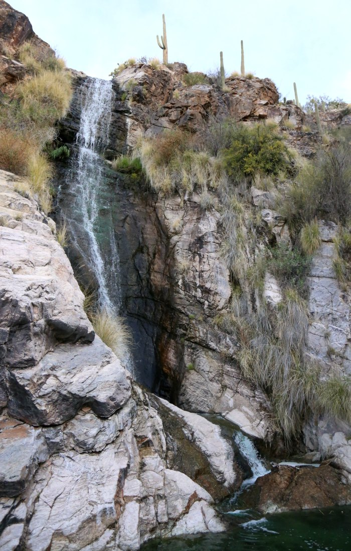 Ventana Canyon Waterfall
