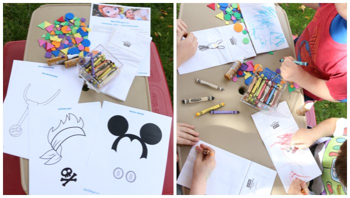 #DisneyKids party craft