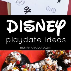 Easy Disney Playdate Ideas