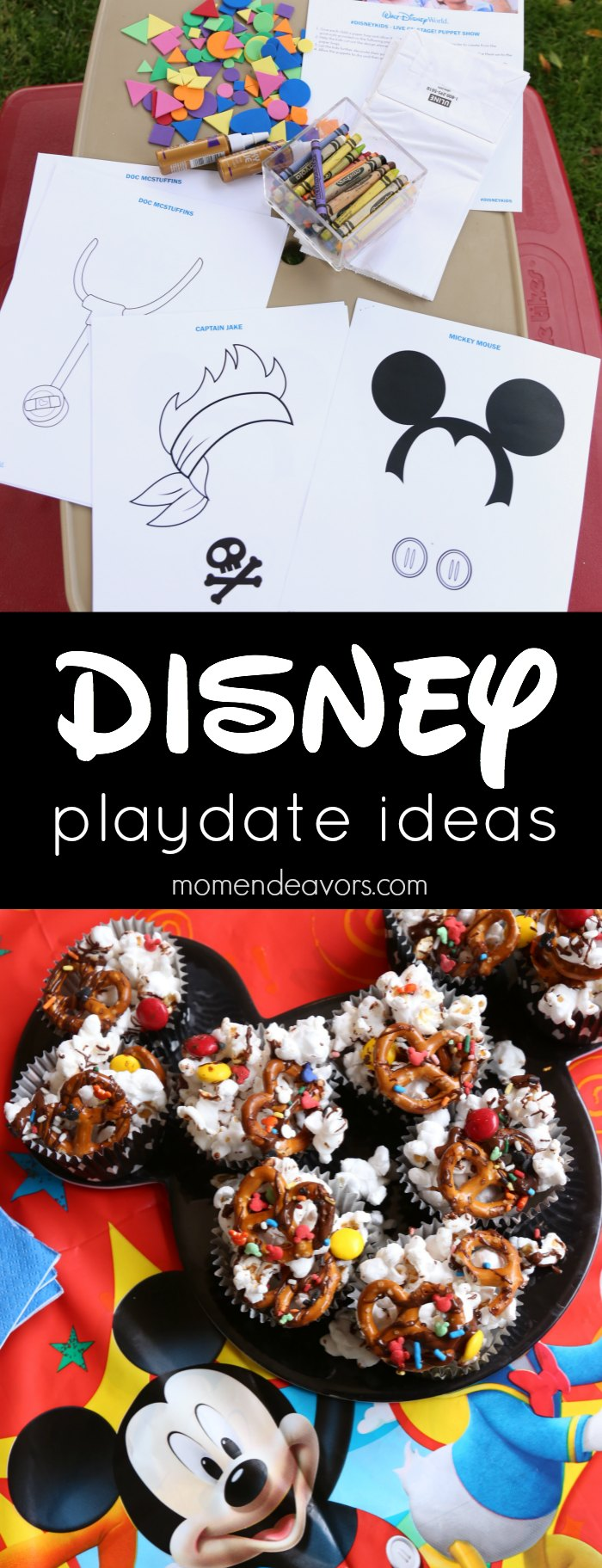 Easy Disney Kids Playdate Ideas