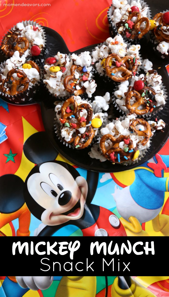 Mickey Munch Snack Mix
