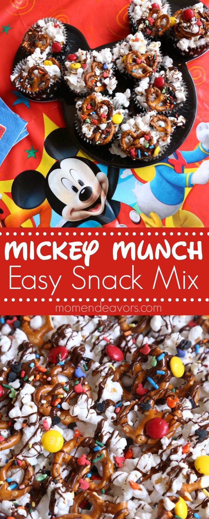 Mickey Munch Snack