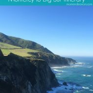 Pacific Coast Highway – Monterey to Big Sur 1-Day Family Travel Itinerary