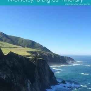 Monterey to Big Sur Family Travel Trip