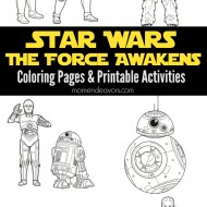 Star Wars: The Force Awakens Printable Activities & Coloring Pages