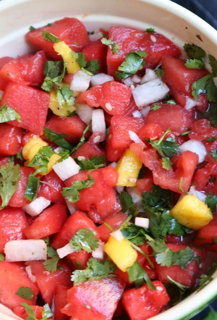 Watermelon Jicama Cilantro