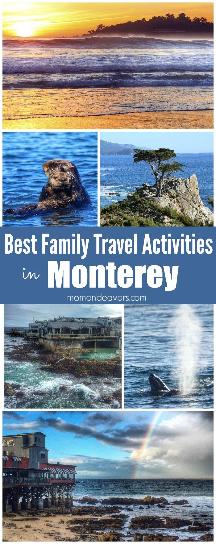 Best Family Travel Activities in Monterey