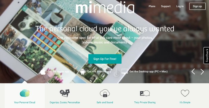 MiMedia Personal Cloud