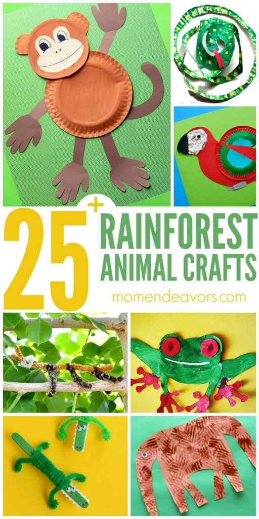 Fun Animal Crafts To Do At Home