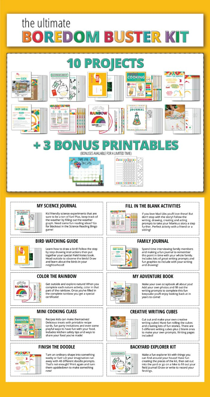 Bordeom Busters Printables