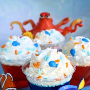 Finding Dory Easy Dessert Cups