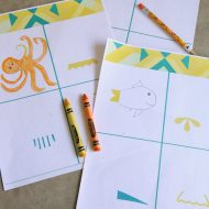 Educational Boredom Buster Printable Kit for Kids
