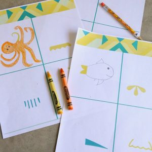 Finish the Doodle Printables