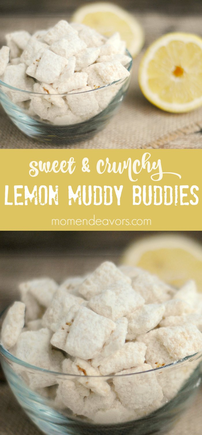 Lemon Muddy Buddies Recipe