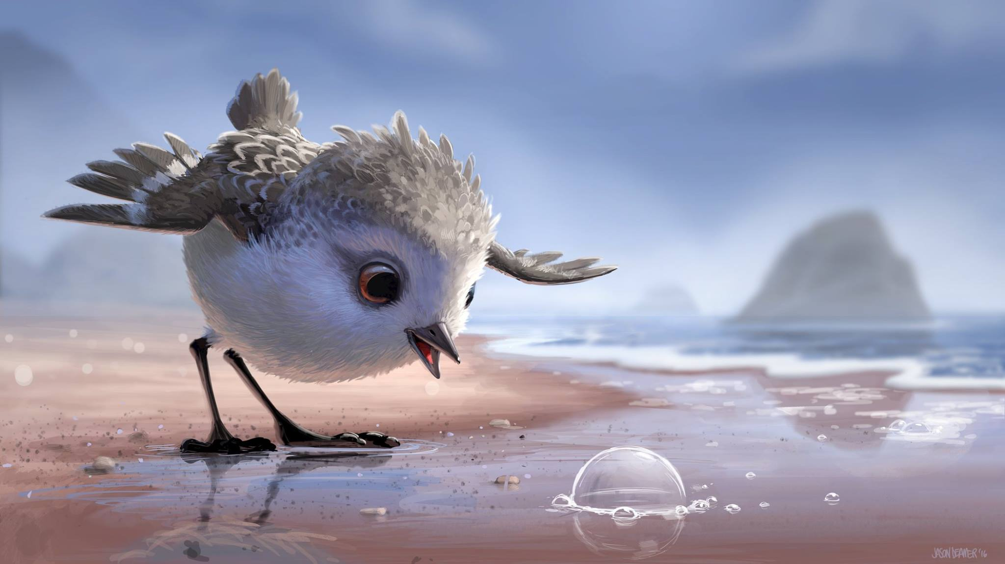 Piper Animated Short