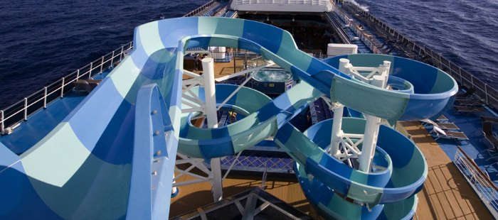 Twister Waterslide Carnival Cruise