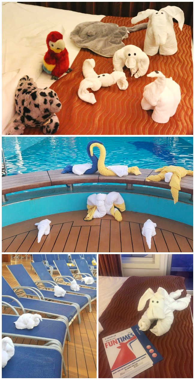 Carnival Cruise Towel Animals