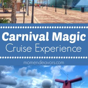 Carnival Magic Cruise Experience