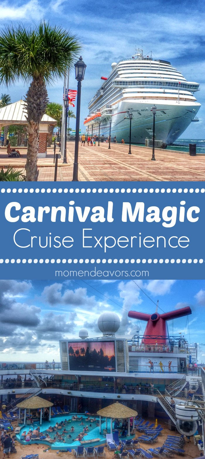 Carnival Magic Cruise Experience