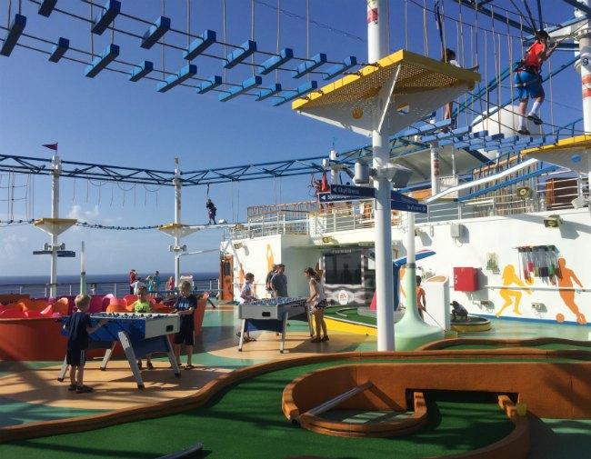 Carnival Sports Deck