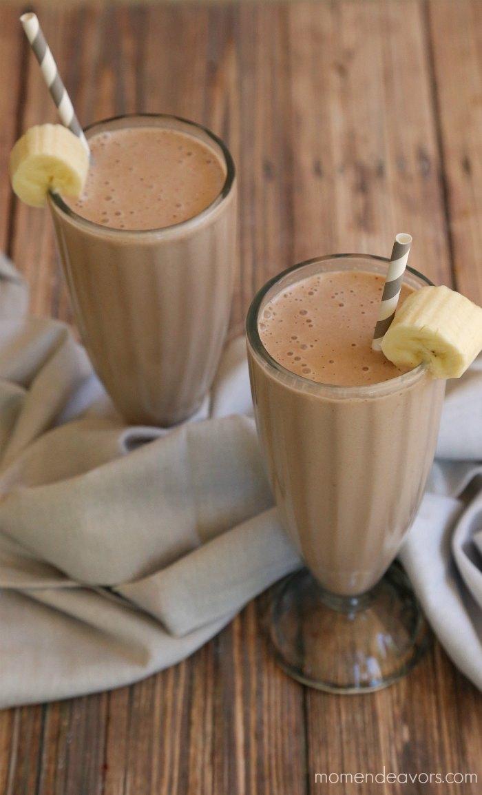 Chocolate Banana Healthy Milkshake