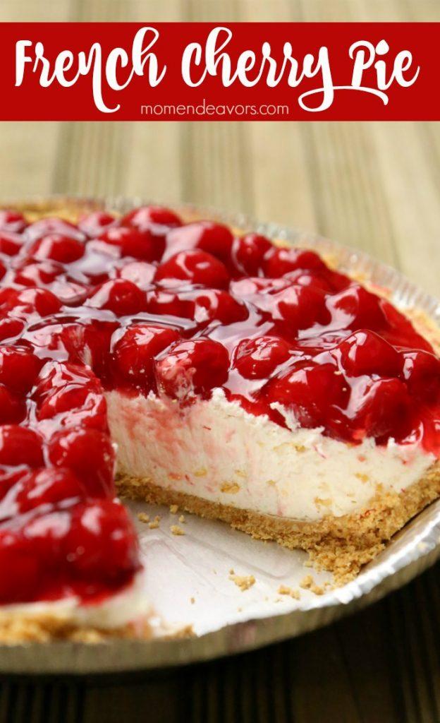 Grandma's French Cherry Pie