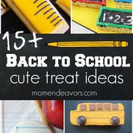 15+ Cute Back to School Treats