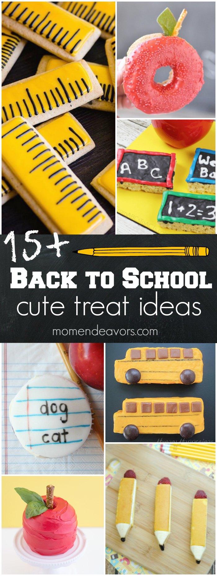 15+ Cute Back To School Treats