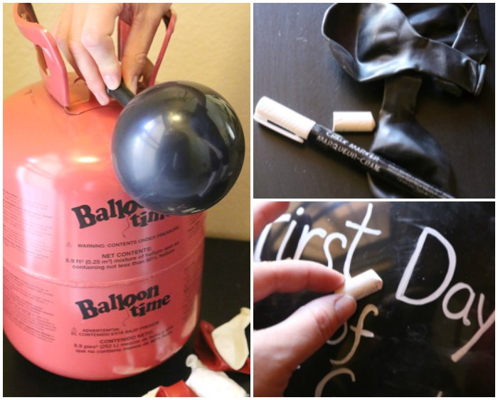 Balloon Time Chalkboard Balloons