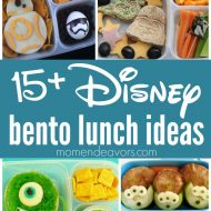 15+ Disney Bento Lunch Ideas