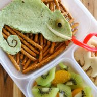 Cute Chameleon Bento Lunch – inspired by The Wild Life
