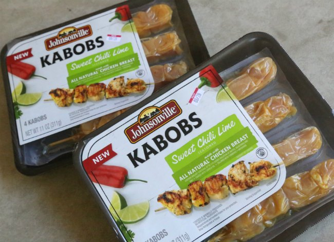 Johnsonville Chicken Kabobs