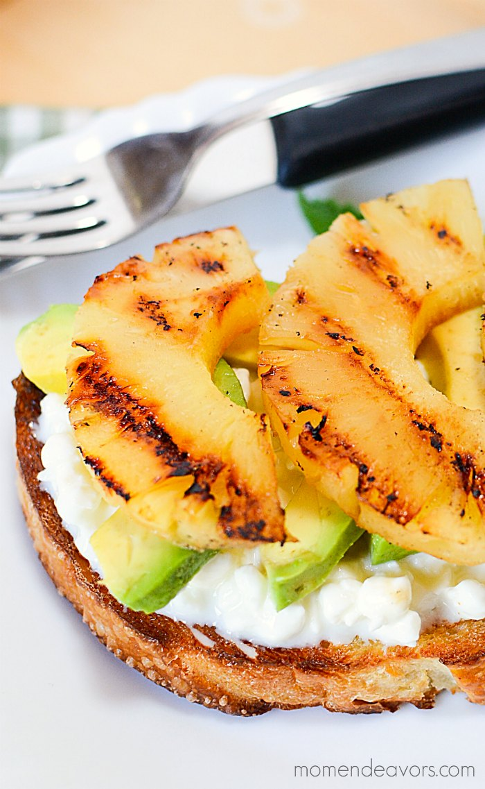 Pineapple Avocado Breakfast Idea