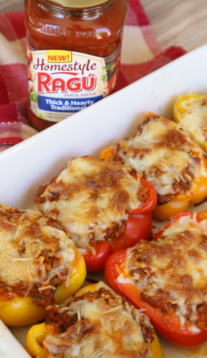 RAGU Italian Stuffed Peppers