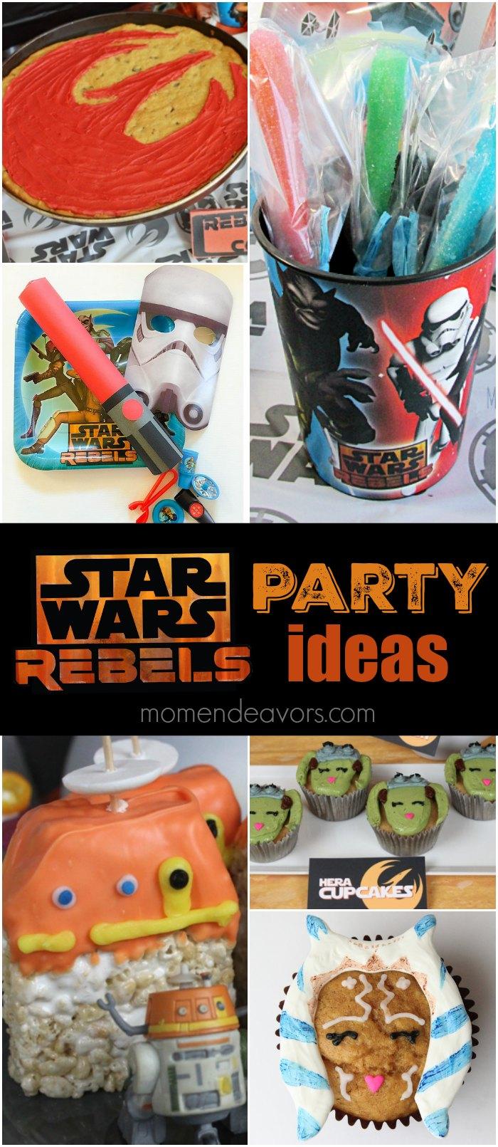 Star Wars Rebels Party Ideas