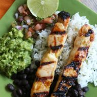 Easy Sweet Chili Lime Chicken Kabobs
