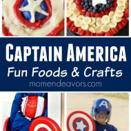 Captain America Fun Foods & Crafts