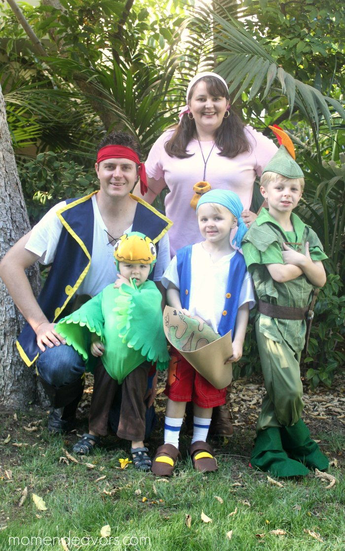 Disney Jake Pirate Family Costumes
