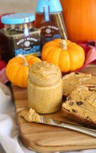 homemade pumpkin honey butter
