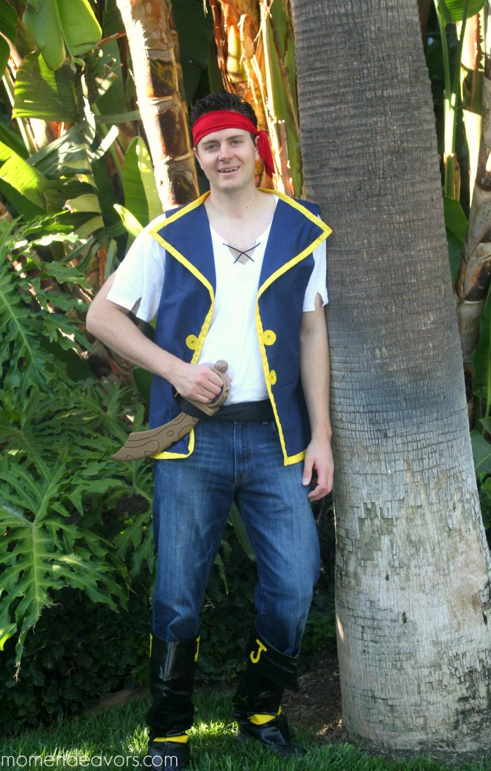 Jake & the Never Land Pirates Costume Adult
