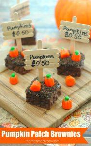 Pumpkin Patch Brownies