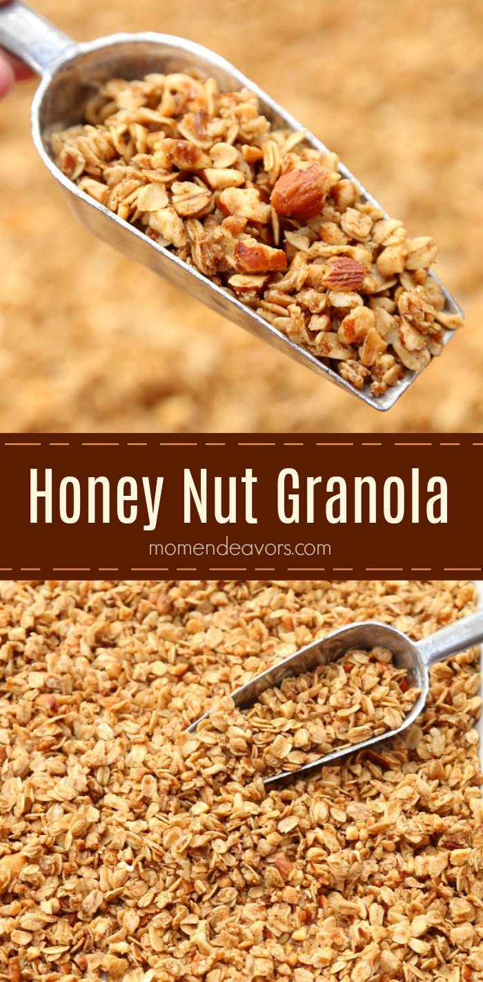 Simple Honey Nut Granola Recipe