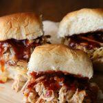Slow Cooker Hawaiian Pulled Pork Sliders