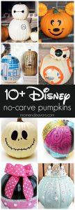 Best Disney No Carve Pumpkins